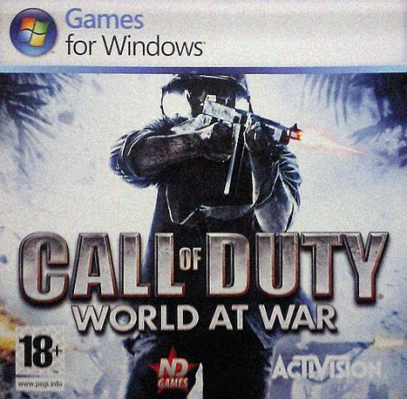 Call of Duty 5 (COD 5): World at War (2008)