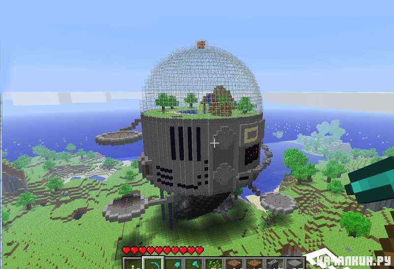 Как сделать дом в minecraft.